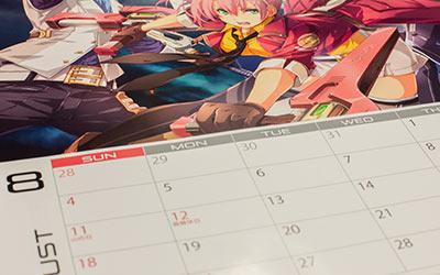 IRカレンダー